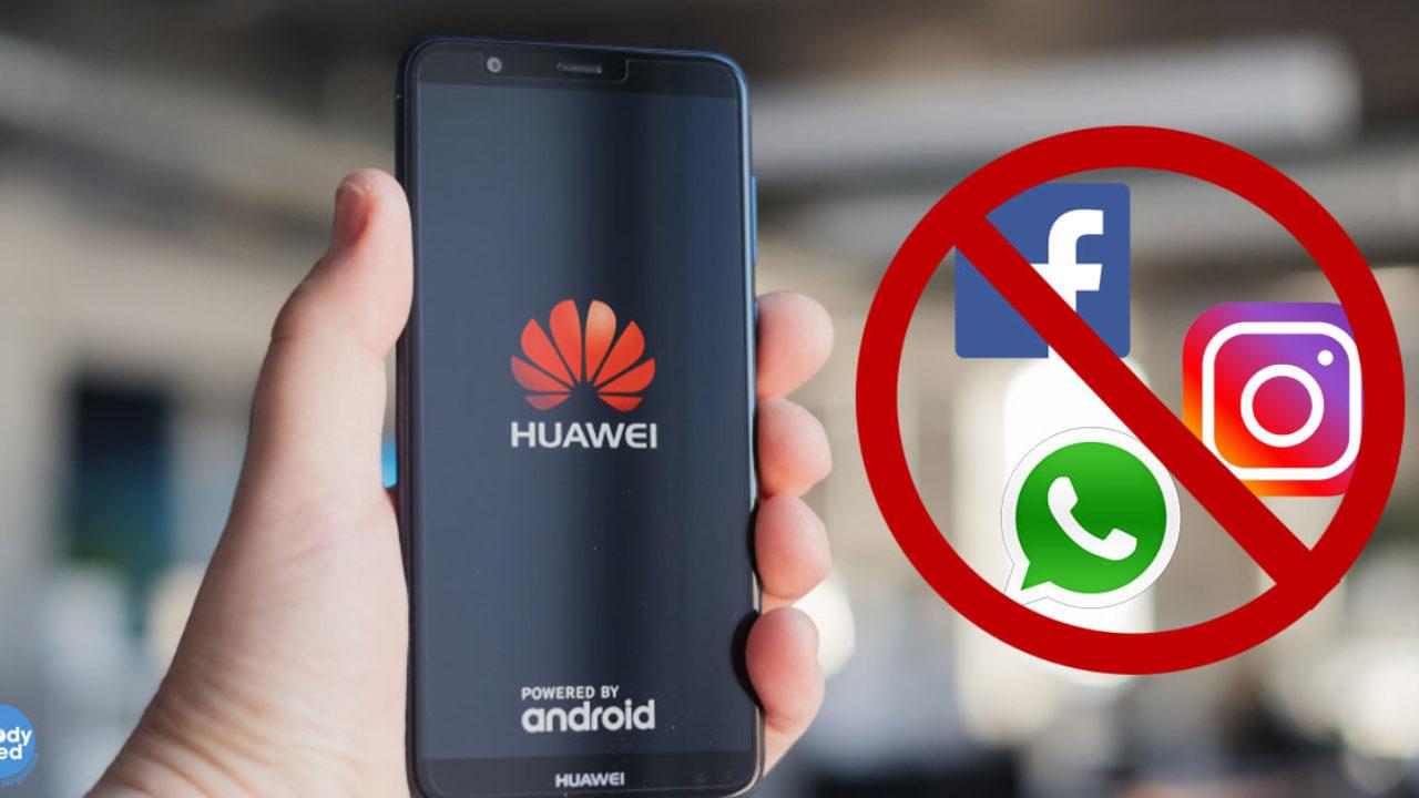 Takkan Ada Aplikasi WhatsApp dan Facebook di Ponsel Terbaru Huawei
